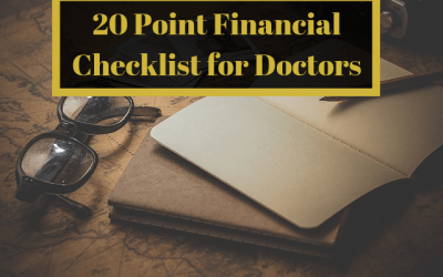 20 Point Financial Checklist for Doctors