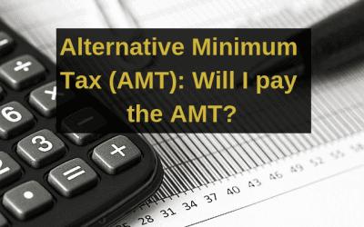 Alternative Minimum Tax (AMT): Will I pay the AMT?