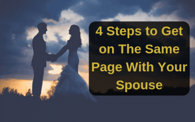 4 Steps to Get on The Same Page With Your Spouse