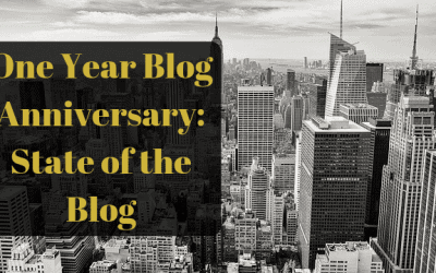One Year Blog Anniversary: State of the Blog