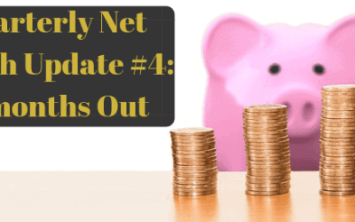 Quarterly Net Worth Update #4: 15 months Out