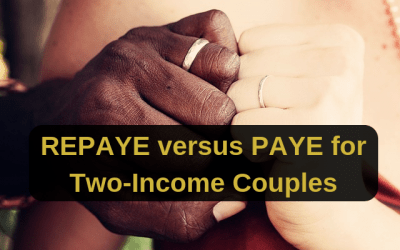 REPAYE Versus PAYE for Two-Income Couples