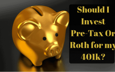 Should I Invest Pre-Tax or Roth for my 401k?