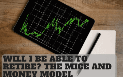Will I be able to retire? The Mice and Money Model